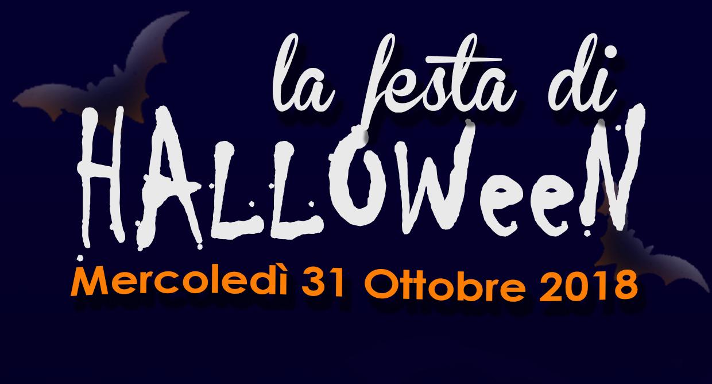 Festa Di Halloween – Mercoledì 31 Ottobre