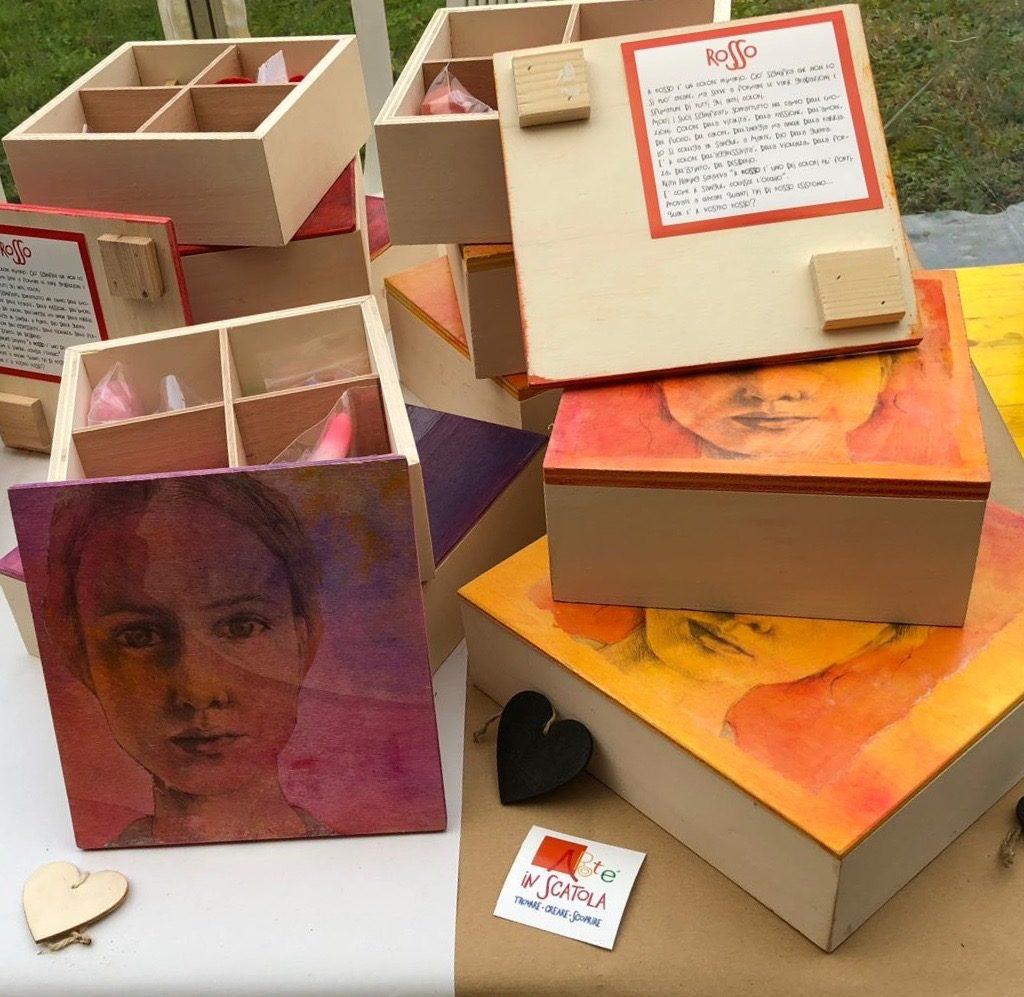 Arte In Scatola – Laboratorio Delle Arti