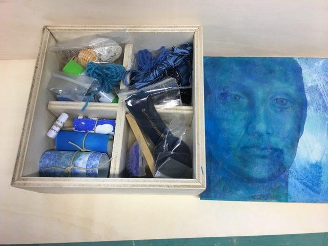 Arte In Scatola Blu Interno 02