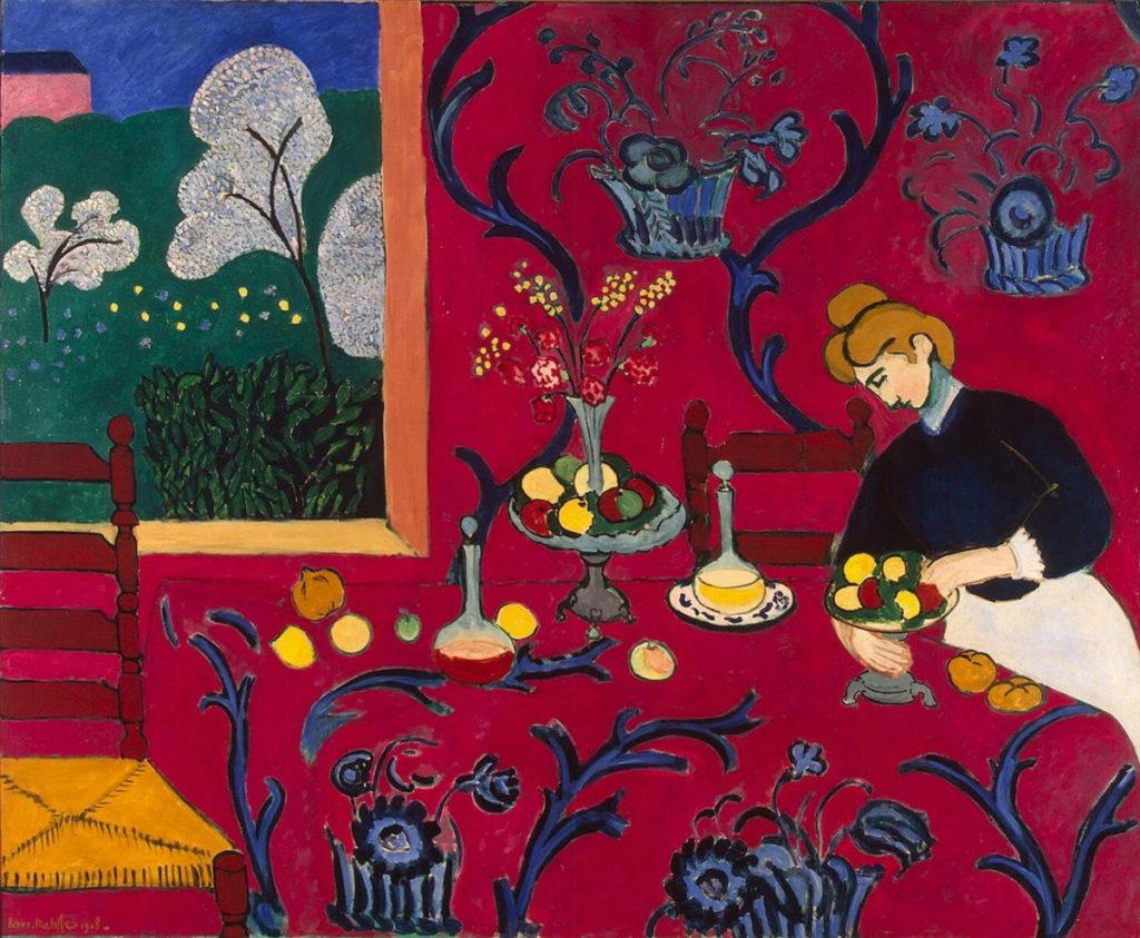 Quadro Henri Matisse, Armonie in rosso, 1908